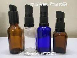 30 Ml Bottle With Pump/ Spray