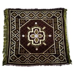 AA-One Cotton Aasan, Size: 21 * 21 Inches