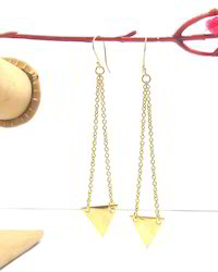 Handmade Gold Plated Earrings