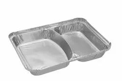 Paramount 2 Compartment Foil Container