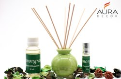 AuraDecor 30 ml Lemongrass Reed Diffuser Oil