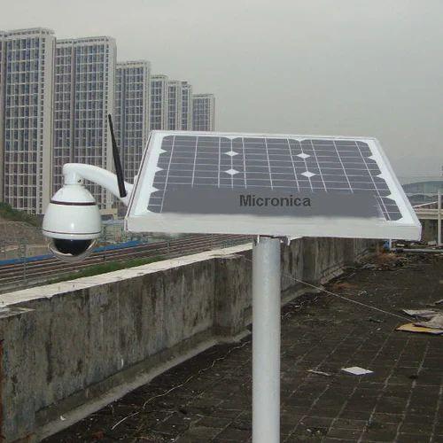 Solar Cctv Camera सोलर कैमरा Vishal Solar Energy