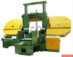 Multicut Semi Automatic Double Column Band Saw Machine, for Industrial