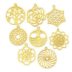 Metal Charm Gold Plated