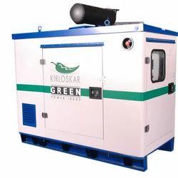 Silent or Soundproof Water Cooling 15 Kva Kirloskar Silent Generators