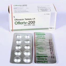 Ofloxacin-200MG Tablet
