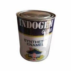 High Gloss Water Based Paint Indogem Synthetic Enamel Paint, Packaging Type: Tin
