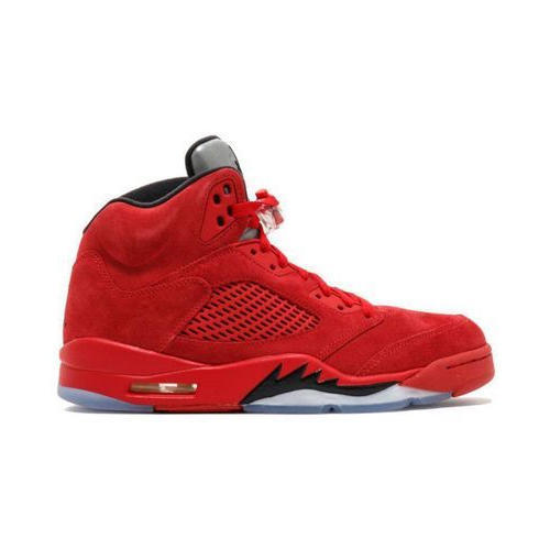 best service 92a03 6d680 Nike Air Jordan 5 Retro Red Basketball Shoes, Size  41-45