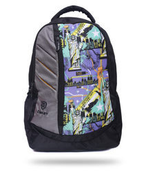 Printed Adjustable Free Size Backpack
