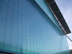 Blue Film Coated Polycarbonate Panel, 11800 X 1220 Mm, Thickness Of Sheet: 3mm