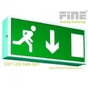 Emergency Back Light Exit Lights