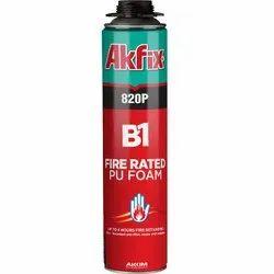 820P B1 Fire Rated PU Gun Foam