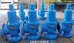 High Pressure Flange End Safety Relief Valve
