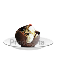 Scoop-Chocolate Bowl