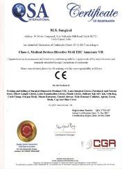 CE Mark - Latex Surgical Gloves MediSter