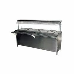 Bain Marie Counter With 6 Containers