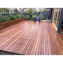 Wooden Decking Floor, Size/Dimension: 21mmx 145mmx RL