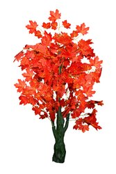 HALFCORN 5fts Long Beautiful Artificial Maple Tree for Home Decoration