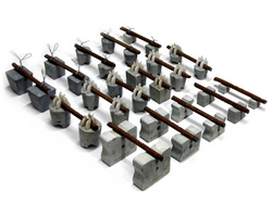 Fiber Cement Spacers - Cover Blocks