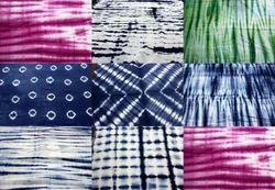 Hand Dye Tie & Dye Bandhani Fabric