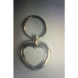 Sub.53 Single Side Metal Keychain Heart Shape Best Holding & Carry Keys