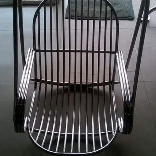 Stainless Steel Hanging Cage Chair