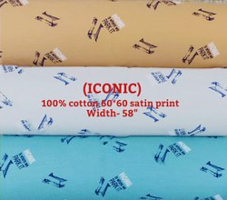 Iconic (Cotton Satin Print)