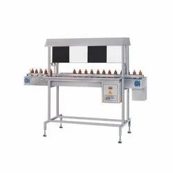 Online Visual Bottle Inspection Table