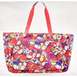 Rexine Printed Ladies Bag