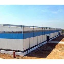 Steel Modular Warehouse Building Fabrication Structure