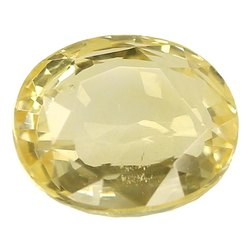 Flawless Loupe Clean Natural Ceylon Yellow Sapphire