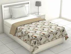 Bird Printed Single Bed Dohar