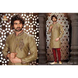 Designer Sherwani with Indowestern Bridges