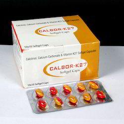Calcitriol Calcium Carbonate and Vitamin K27 Softgel Capsules