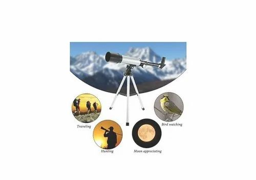 Optical Glass & Metal Tube 90x Power Land & Sky Telescope With Suitcase Packing HE-609