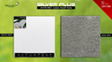 Cool Weather Proof Tile - White Feet Tile - Silverplus