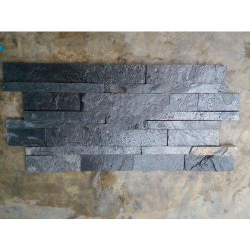 Silver Grey Slate Wall Panels, 7-20 Mm, Rs 149 /square feet, Mudra ...
