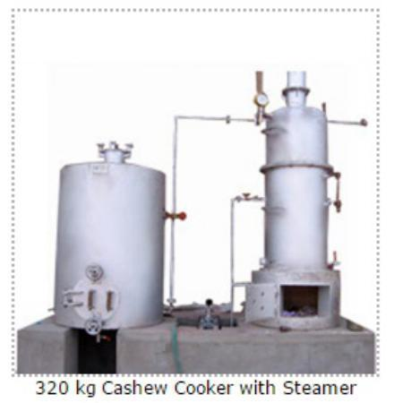 Cashew Nut Steam Boiler 320 Kg - View Specifications & Details of ...