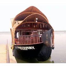 Brown Fibreglass Traditional Kerala Houseboat