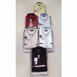 Cotton Slim Fit Men's Shirt, Size: M L Xl, Machine wash