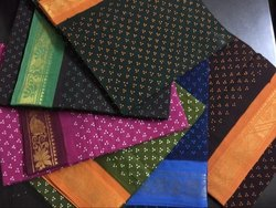 Printed Sungudi Sarees, 5.5 M (separate Blouse Piece)