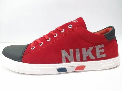 Men Fabric Nike Canvas Shoes, Size: 6
