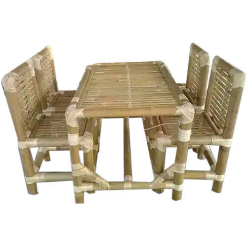 Exceptional Customized Designer Bamboo Dining Table Set