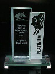 Platinum Crystal Trophy