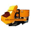 Pan Mixer With Hydraulic Hoppers