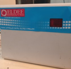 Eldee Model Name/Number: Es Single Phase Air Conditioner Stabilizers, 80 V To 170 V, 230