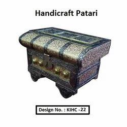 Aluminium, Wood Handicraft Patari