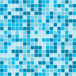 Square Glass Finished Mosaic Tile