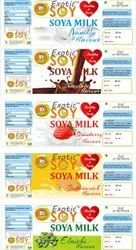 EXOTIC SOY Pasteurized SOYA MILK, Packaging Type: Bottle, Quantity Per Pack: 200 Ml