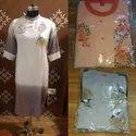 D.s. Bandhani 3/4th Sleeve Women Cotton Kurti, Size: S-xxl, Wash Care: Machine Wash